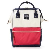 Fashion Backpack canvas school printing ring backpack vintage women backpack youth bag School backpack for teenage