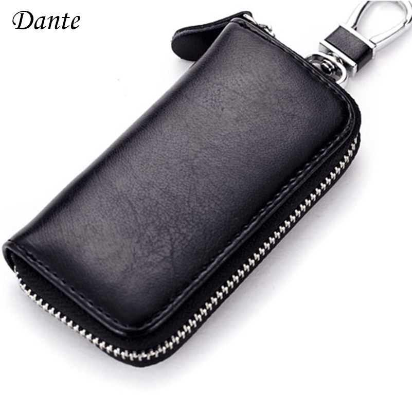 Hot selling New arrival High quality Split leather card key wallets fashion men housekeeper women key holder purse FGS160