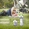 Baby Fütterung Desinfektor Cartoon Kätzchen UV Ozon Sterilisator Haken Tragbare Multi-funktionale Outdoor Reise Sanitizer Für Flasche