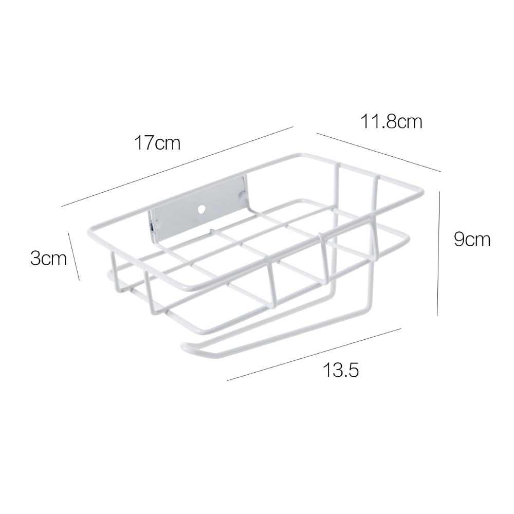 Cesta de almacenamiento de papel higiénico para pared rollo de papel para baño soporte de teléfono estante de almacenamiento de tejido colgador de toalla organizador de barra