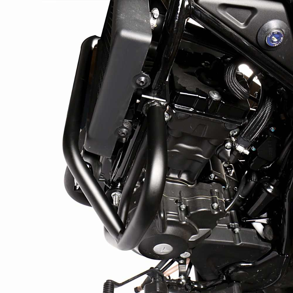 Black Engine Guard Crash Protector For 2017-2018 Rebel CMX 300 500 Models