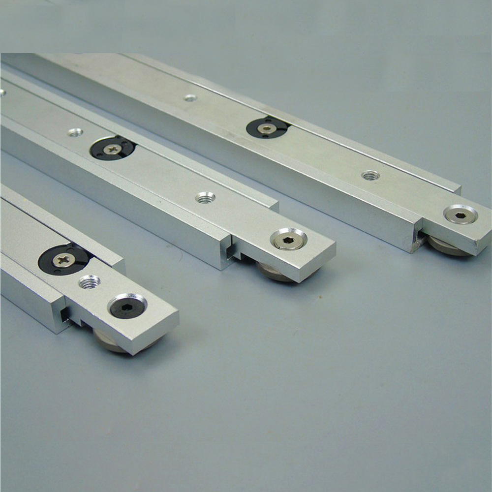 1pcs Aluminium Alloy T-tracks Slot Miter Track And Miter Bar Slider Table Saw Miter Gauge Rod For DIY Woodworking Tools