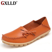 2017 Moccasins Women's Soft Leisure Flats Female Driving Shoes Loafers Mother Casual Shoes Fashion Woman Genuine Leather Shoes