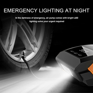 Image 5 - اكسسوارات السيارات ضاغط هواء للسيارة 12V مضخة نفخ LED ضغط الوقت الحقيقي السيارات مضخات هواء العالمي سيارات صغيرة الكهربائية