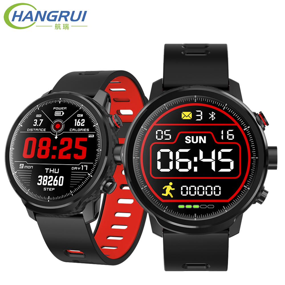 L5 Smart Watch Men Waterproof Heart Rate Monitor Fitness Tracker Reminder Bluetooth Smartwatch for iphone android huawei phone