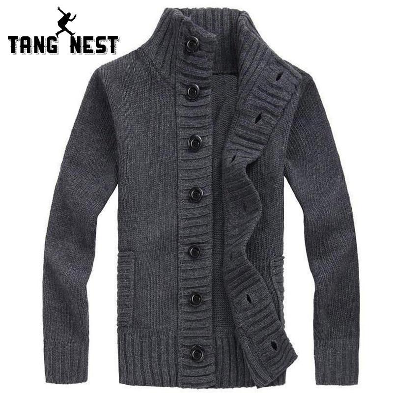 TANGNEST Warm Cardigan Men 2018 Hot Sale
