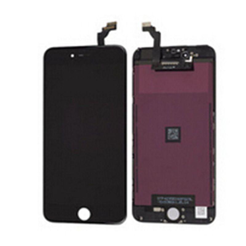"AAA nueva Pantalla Lcd + MONTAJE DE digitalizador de cristal táctil para Iphone 6 plus Pantalla de repuesto 5,5 ""color negro"