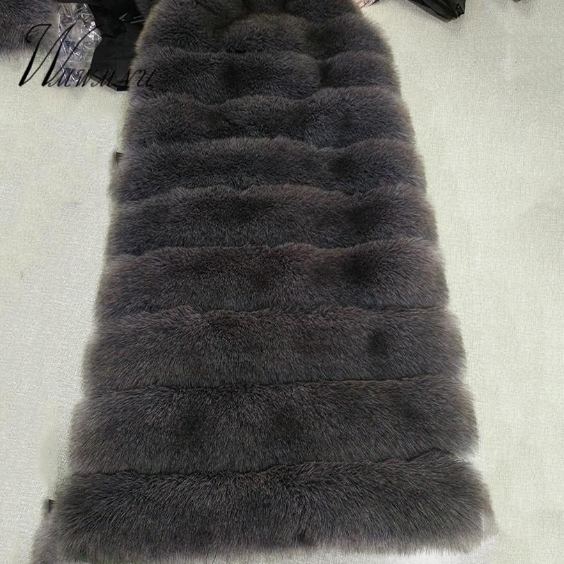 Faux Fox Fur Coat 5