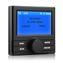 Car Bluetooth DAB Digital font b Radio b font Box Adapter FM Transmitter Digital Audio Broadcasting