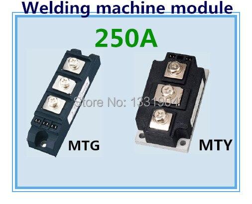 Module de contrôle de silicium de module de scr de joint de soudure du module MTG MTY 250A de Thyristor non isolé utilisé pour la machine de soudure