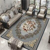 Alfombras geométricas clásicas Vintage para sala de estar  dormitorio  alfombra persa  alfombras para mesa de centro  Tapete  alfombras delicadas|Alfombra|   -