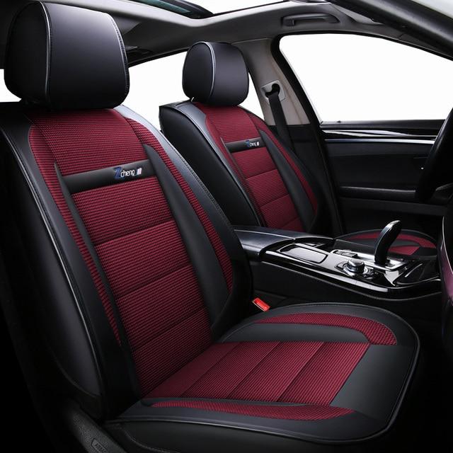 New Luxury leather Universal car seat cover for audi a3 8p a1 a4 a4l a5 a6 a6l a7 a8 8p 8v a4 b6 b7 b8 a6 c5 c6 c7 q5 q7 tt Car