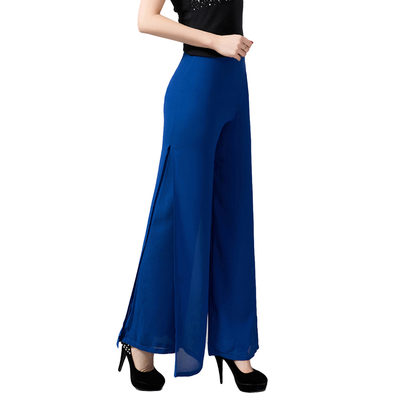 2017 Women Casual Pants & Capris Female Fashion Bottoms Summer & Spring Sweat Lady's Chiffon Trousers YP0154