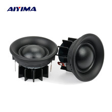 AIYIMA 2Pcs 10W 1.5Inch Tweeters Loudspeakers Treble Mini Portable Silk Film Speakers 4 Ohm 6 Ohm 8Ohm 40MM(China)