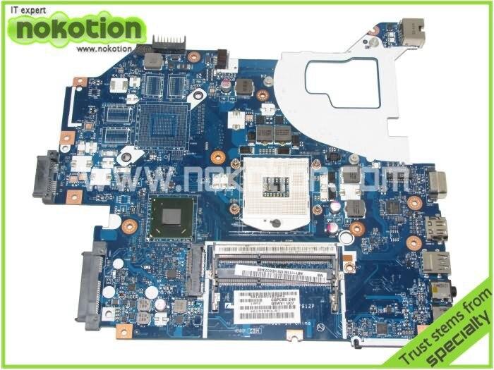 NOKOTION Q5WVH LA-7912P laptop motherboard for Acer V3-571 Intel NBY1111001 NB.Y1111.001 Mainboard DDR3 nokotion sps v000198120 for toshiba satellite a500 a505 motherboard intel gm45 ddr2 6050a2323101 mb a01
