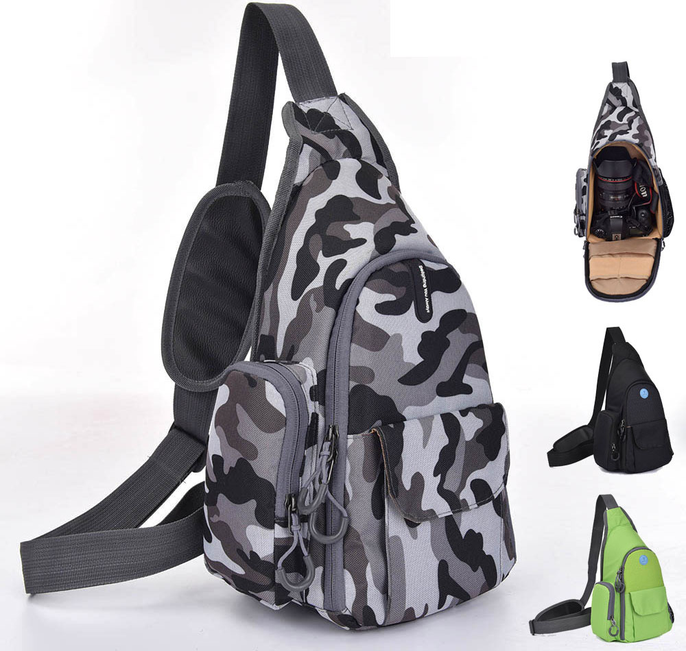 SlingShot 200 Waterproof Camera Case Backpack Shoulder Bag DSLR Camera Bag For Canon Nikon Sony 70D 600D 700D D5100 D5200 D3200