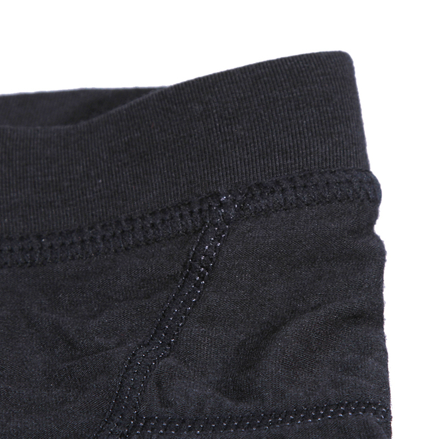 Seven7 Luxury Brand Men's Boxer Underwear Black Under Wear Male Panties Cueca Boxer Shorts High Quality Underpants Men E99N0303