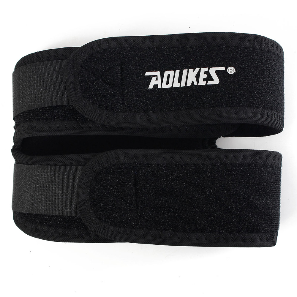 Aolikes Регулируемый мягкий коленный фиксатор для поддержки колена, повязка на сухожильный ремень, джемпер для спортзала