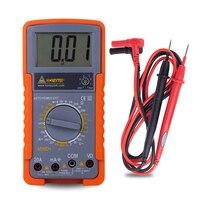 Mini digital multimeters tester medidor esr unit AC/DC Voltage Current analog capacitor resistance probes For multimeter meter