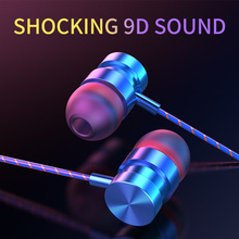 Moysdio In-Ear Headphones For Xiaomi Earphone For Phone Stereo Bass Headset Metal Wired Earphone HiFi Headphones Mic for Samsung цена