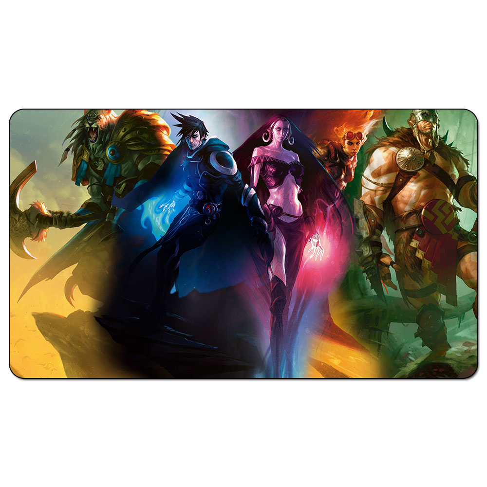 Magic trading card game Playmat: Planeswalkers art playmat for trading card game 60cm x 35cm (24 x 14) Size image