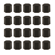 цена на 20 Pcs Wheel Lug Silicone Nut Center Cover Caps For Any Car Wheel 17mm Bolts Or Nut Car Wheel Hub Screw Cover Accessories