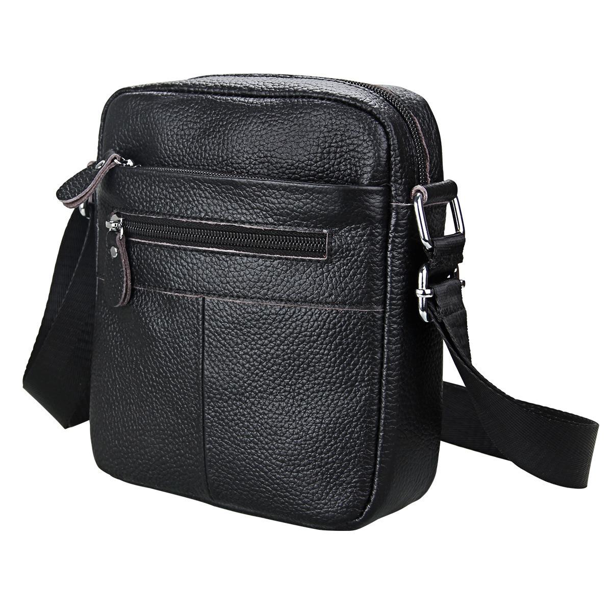 71f330f5ab14 Men Shoulder Bag Genuine Leather Small Messenger Bag Men Leather ...