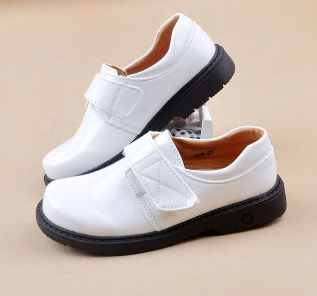 Vernice Bambini Shool Studente Ragazzo Nero di Scarpe Uniformi Scarpe Scarpe Bambini Moda Il Per Prestazioni qBUzEYwf