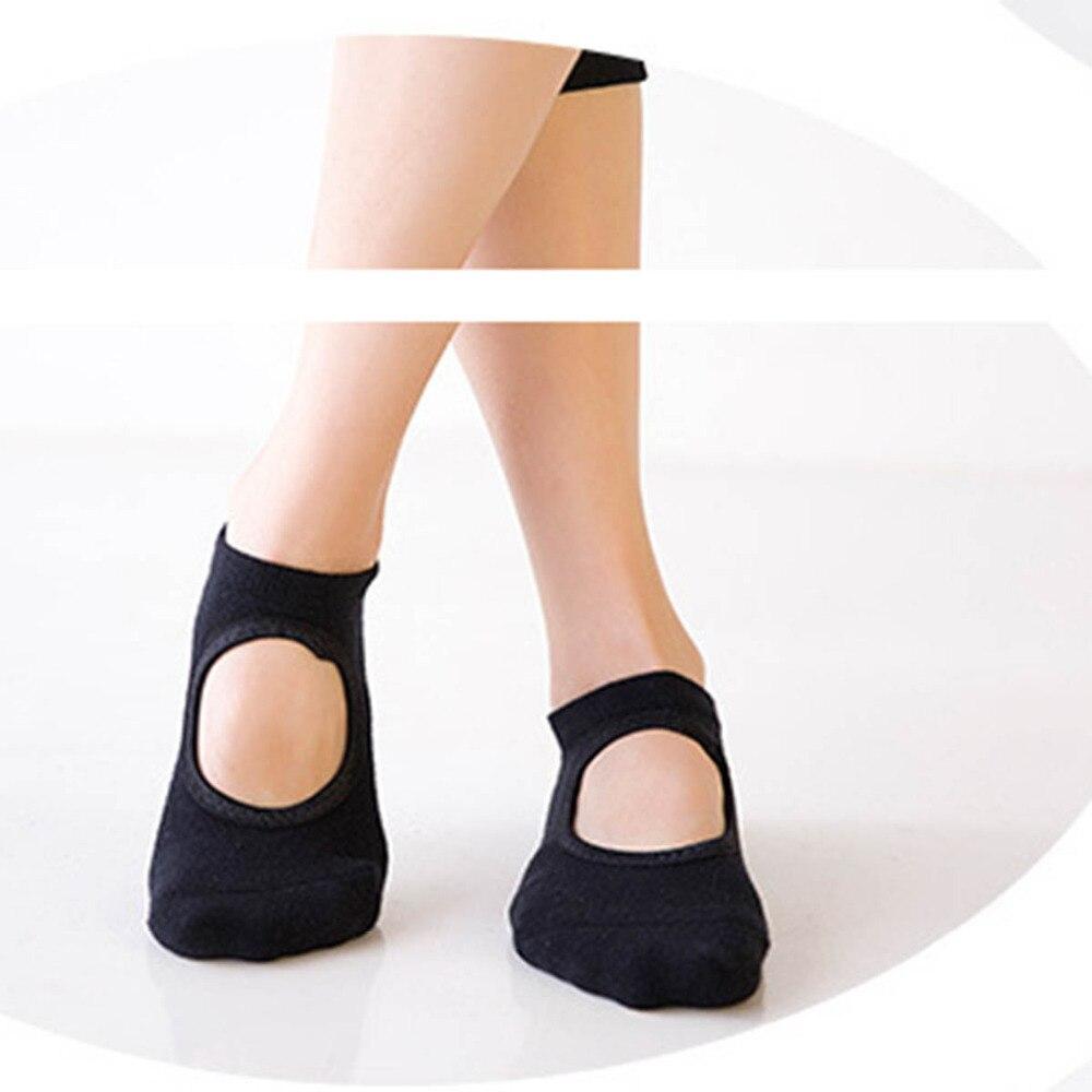 1 Pair Sports Socks Good Flexibility Breathable Cotton Yoga Socks for Balle Dance Fitness Sportswear Accessories size for 34-39 yoga socks half toe grip socks for workout fitness