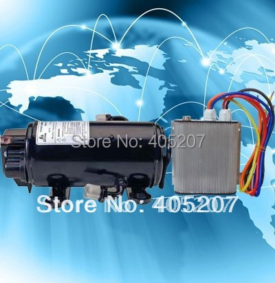 12V Electric compressor for Sleeper cab air-conditioing system for the trains metro and locomotive cabin air conditioner 13mm male thread pressure relief valve for air compressor