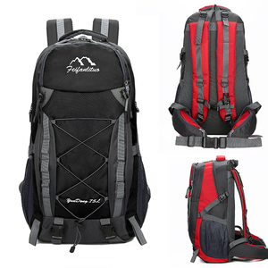 Image 1 - 75L Waterproof unisex men backpack travel pack sports bag pack Outdoor Mountaineering Hiking Climbing Camping backpack for male