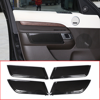 Replacement Parts For Land Rover Discovery 5 2017 ABS Carbon Chrome Interior Door Decoration Panel Cover Trim Accessories LR5