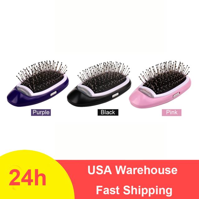 Portable Electric Hairbrush