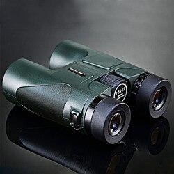 Армейский Зеленый Высокое качество HD 10х42 бинокль USCAMEL военные Профессиональный бинокль для охоты, телескоп с увеличением без инфракрасного...