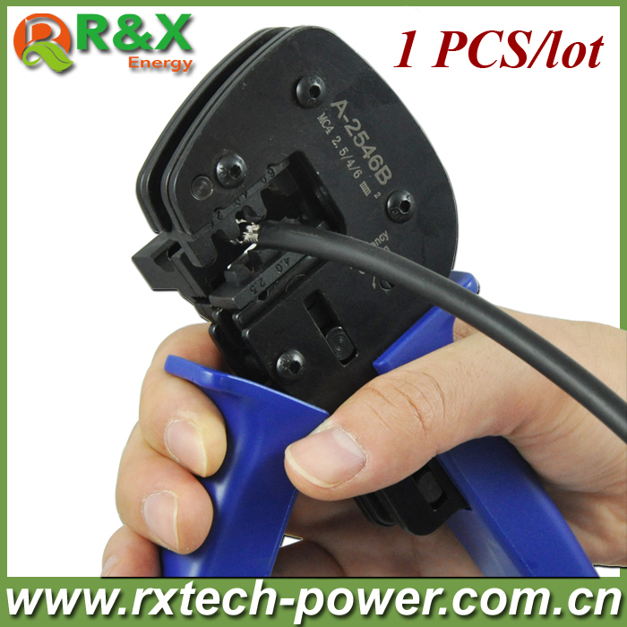 MC4 solar crimping tool for 2.5/4/6mm2 solar cable, PV crimping tool for MC4 solar connector, high quality+3 years warranty.