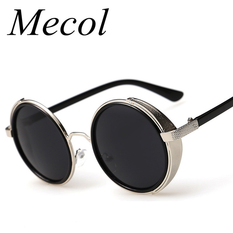 Fashion Metal Frame Gothic Steampunk Sunglasses Women ...