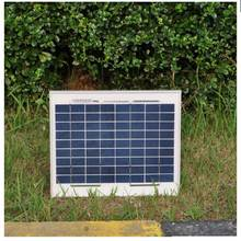 5pc/lot solar panel module 10w 12v polycrystalline solar energy board painel solar 18v solar battery charger for phone led