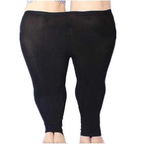 Colorful Modal Big Leggings Women Summer Pants Plus Size Jeans Leggings Candy Color Leggings Big Women Pants Bodycon Pants 5XL