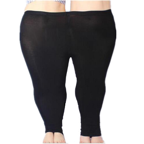 Colorido Grande Modal Leggings Calças de Verão Plus Size calças de Brim Das Mulheres Leggings Leggings de Cores Doces Grandes Mulheres Calças Calças Bodycon 5XL