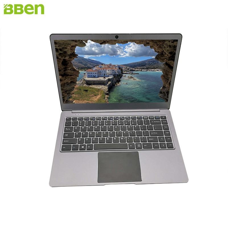 Ordinateur portable Bben14.1inch Ultrabook Intel Apollo Lake N3450 4 GB/64 GB avec fente SSD M.2, pré-installation en métal FHD windows10 - 3