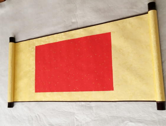 Permalink to Painting & Calligraphy Blank picture Blank drawing shaft imitation silk small two foot scroll Xuan paper