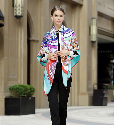 New-Spring-Summer-Women-Silk-Scarf-Luxury-Brand-Ladies-Real-Twill-Silk-Pashmina-Shawl-130cmx130cm-Wrap (8)