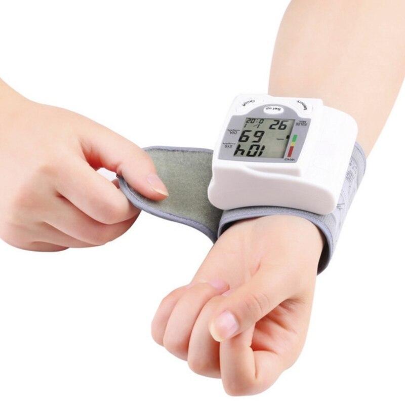 Цифровой ЖК-дисплей кровяного Давление монитор Heart Beat частоты пульса метр Меру ...