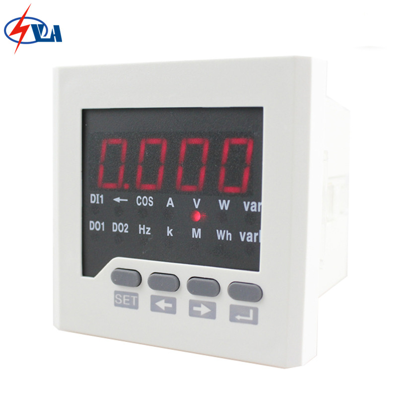 D71 single phase multifunction meter price digital only 80*80mm