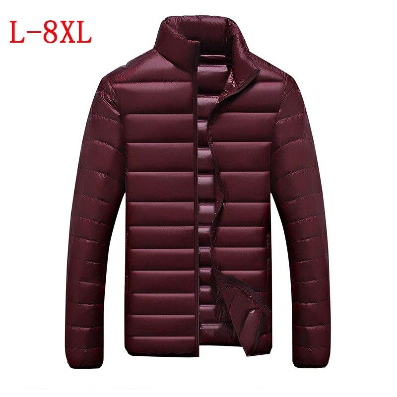 Ücretsiz nakliye büyük boy erkek giyim high-end moda 5XL6XL7XL8XL yeni kış ceket yaka ceket kalın ceket erkekler gençler