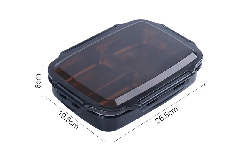 cheap bento boxes TUUTH Stainless Steel Lunch Box Large-capacity Microwave Heating Portable Dinne Food Containers For Picnic Office School B3