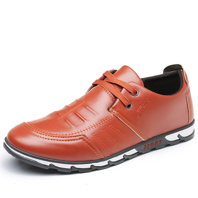 Fine Zero Fashion Men's Oxfords Dress Shoes Men,s PU Leather Business Office Wedding Flats Man Casual Party Driving Shoes
