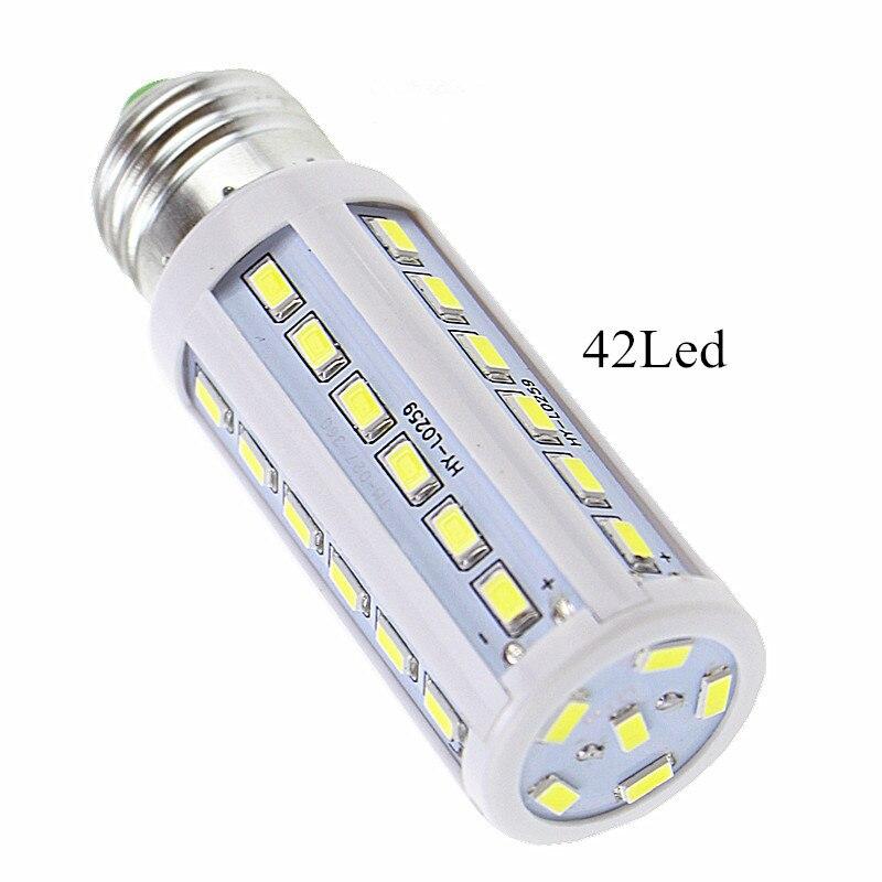 3pcs/lot 12W 110~130V/<font><b>220V</b></font> <font><b>LED</b></font> bulb Corn Light E27 <font><b>led</b></font> lamp 42 <font><b>LEDs</b></font> 5730/<font><b>5630</b></font> Smd Warm / Cold White <font><b>Led</b></font> Bulbs&#038;Tubes 1500 lumen
