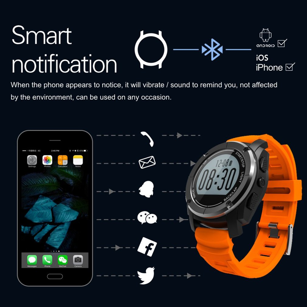 S928 Bluetooth Smart Watch Bracelet Gps Positioning Outdoor Sports Bluetooth Watch Real-Time View Of Motion SpeedS928 Bluetooth Smart Watch Bracelet Gps Positioning Outdoor Sports Bluetooth Watch Real-Time View Of Motion Speed