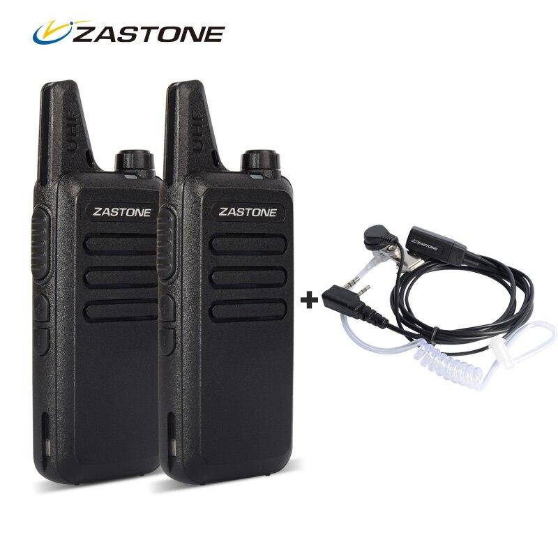 Zastone ZT-X6 Mini Walkie Talkie Paar Headset UHF 400-470 Mhz Frequenz Bewegliche Handfunkgerät Comunicador Zwei-Wege Amateurfunk
